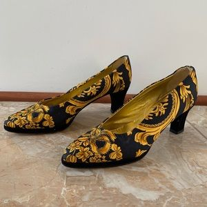 Saks Fifth Avenue Baroque Heels